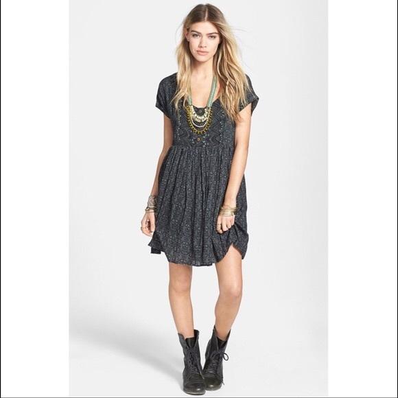 7f1ddbc86e Free People Dresses   Skirts - FREE PEOPLE Sundown Babydoll Dress Size L